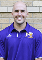 Facilities Graduate Assistant Nick Lampert
