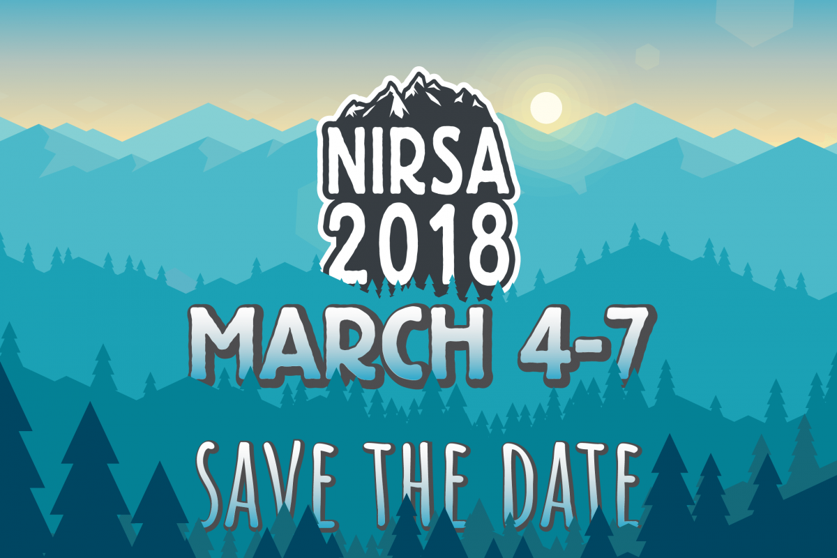 NIRSA Save the Date March 4-7, 2018