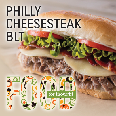 Philly Cheesesteak BLT