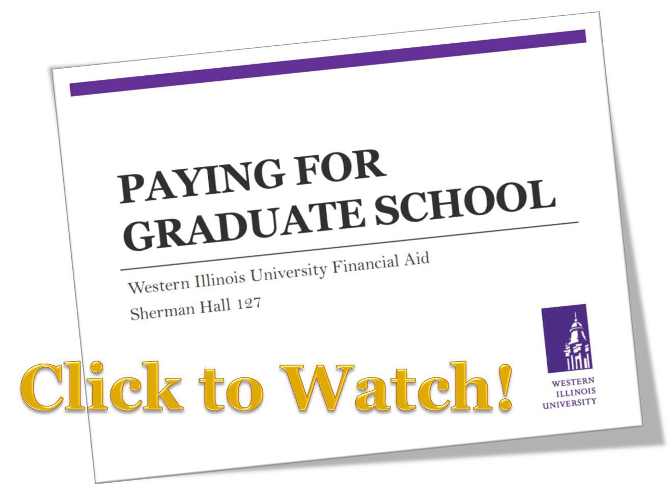 Paying for Grad School PDF