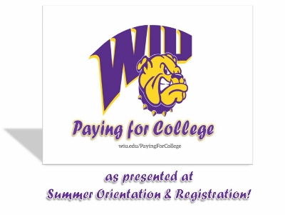 Paying For College at WIU