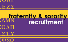 Fraternity and Sorority Recruitment Image