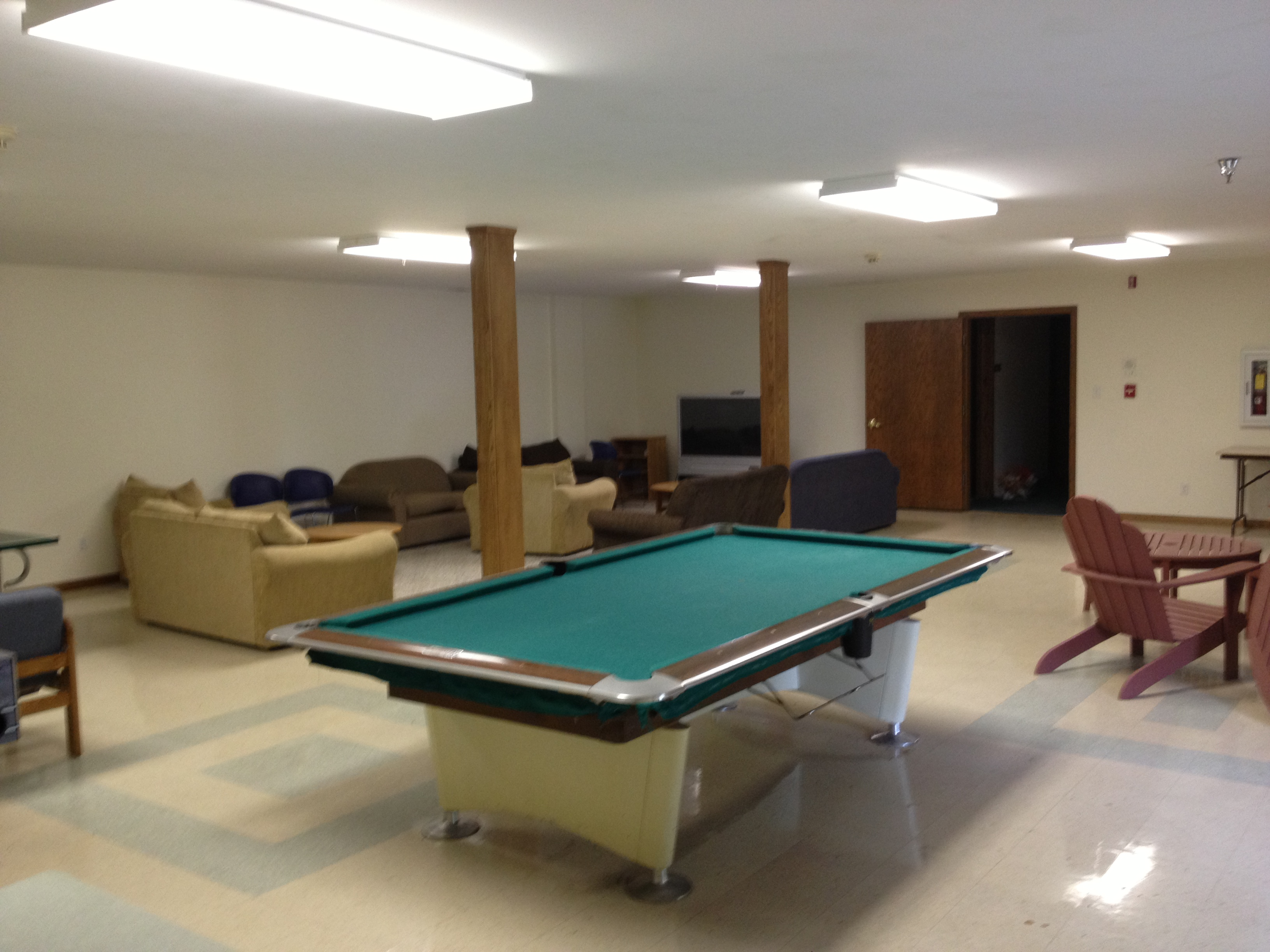 Westbrook House Game Room