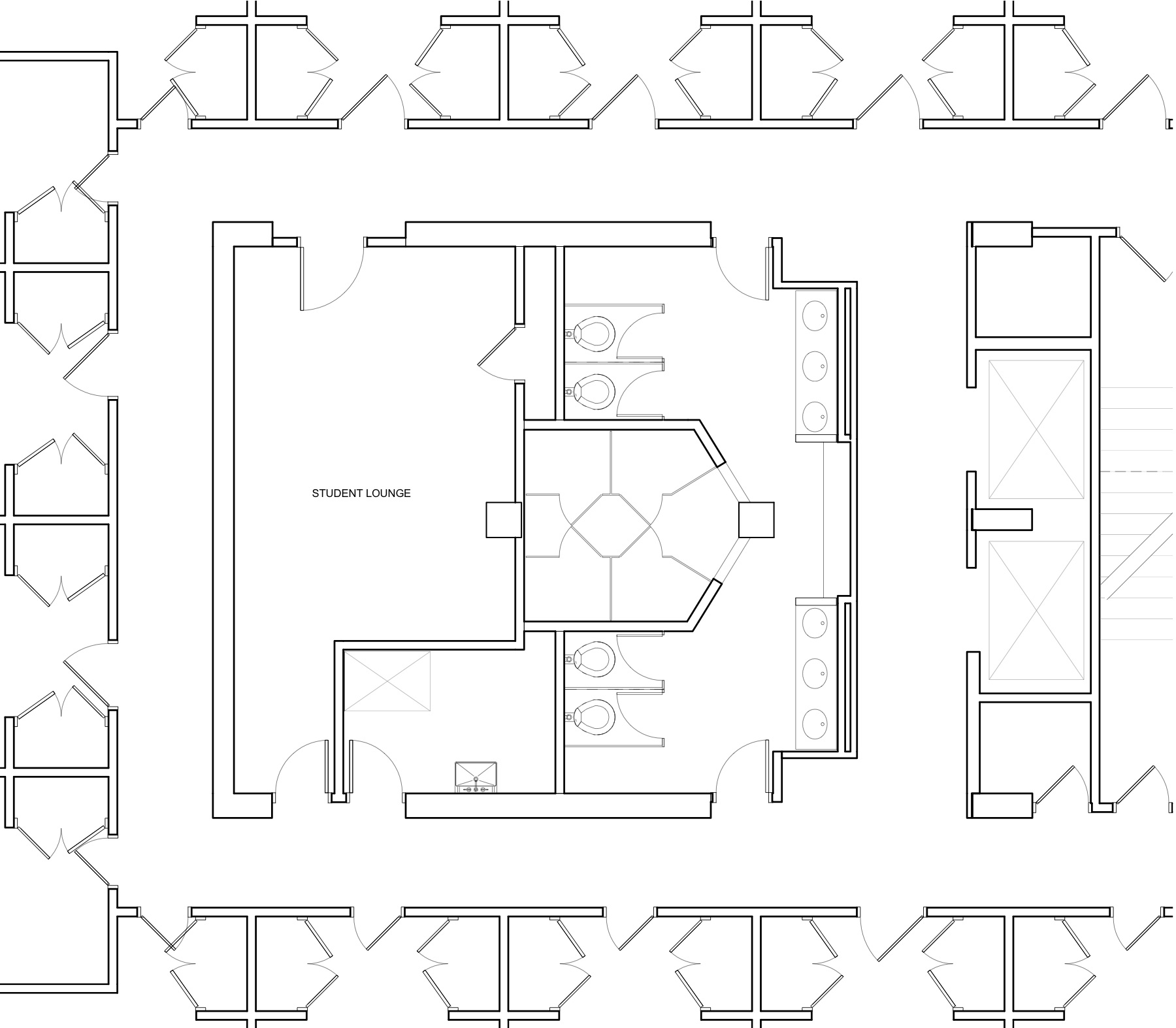 Lincoln/Washington Floor Plan Before