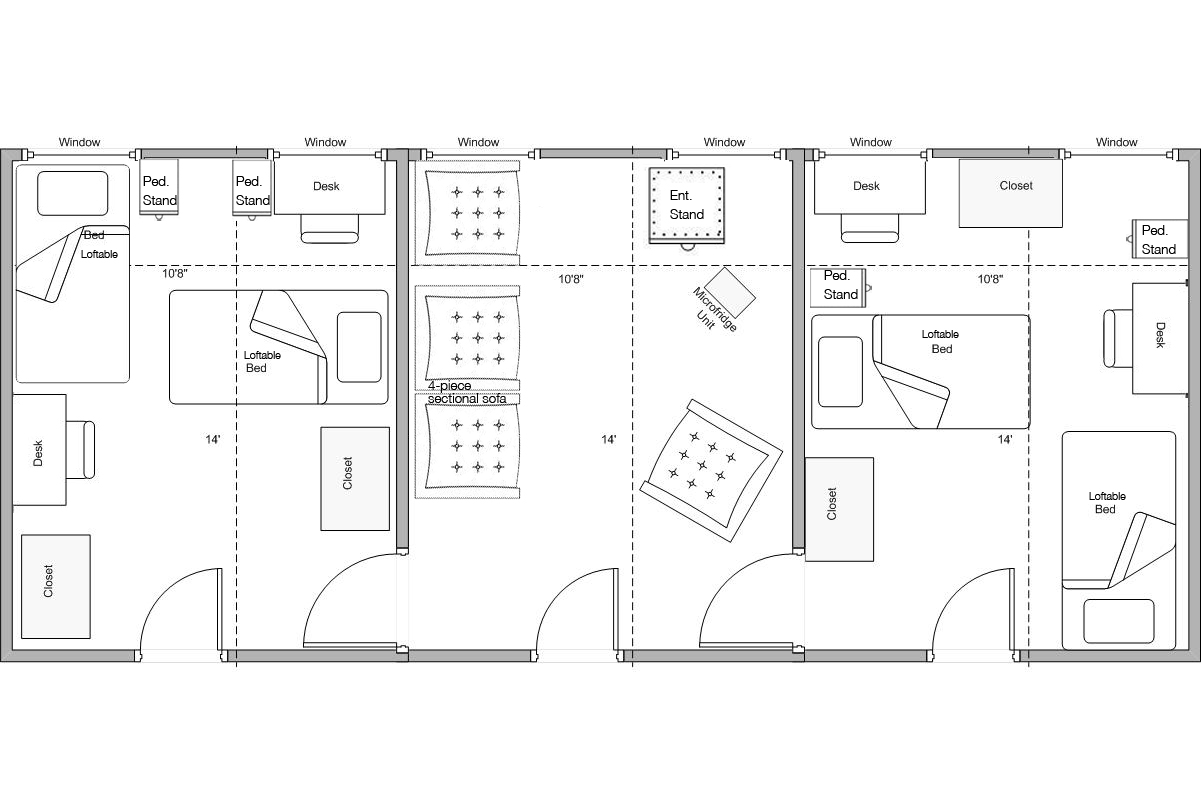 Corbin Suite Layout