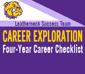 Leatherneck Success Team - Career Exploration - Four Year Degree Checklist