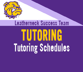 Leatherneck Success Team - Tutoring - Tutoring Schedules