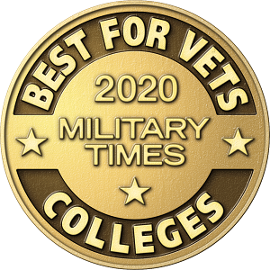Military Times Best for Vets Colleges Award