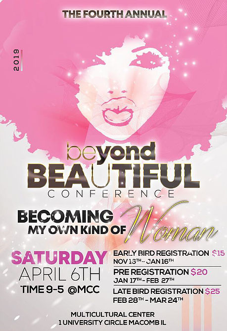 Beyond Beautiful Conference:  April 6th, 9-5 in MCC