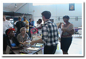 social work fair photo