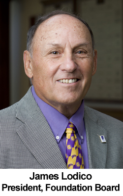 James Lodico, President of the WIU Foundation Board