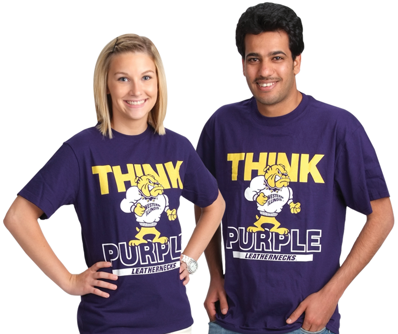 Think Purple t-shirt options