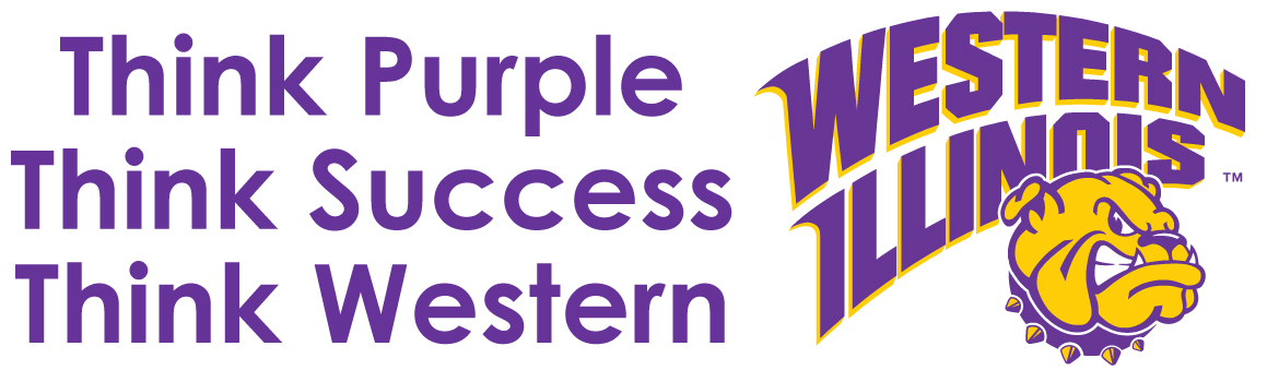 WIU wants YOU to Think Purple!