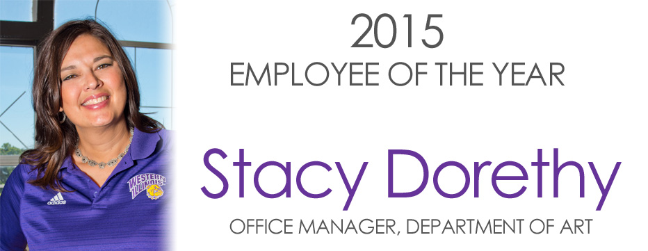2015 Employee of the Year, Stacy Dorethy