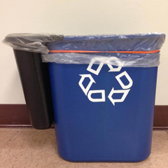 Indoor Trash/Recycling Bin